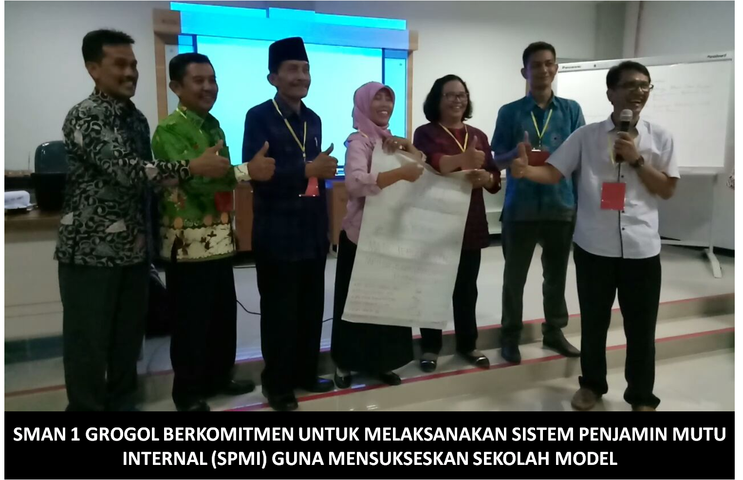 WORKSHOP BIMBINGAN TEKNIS SISTEM PENJAMIN MUTU INTERNAL (SPMI)