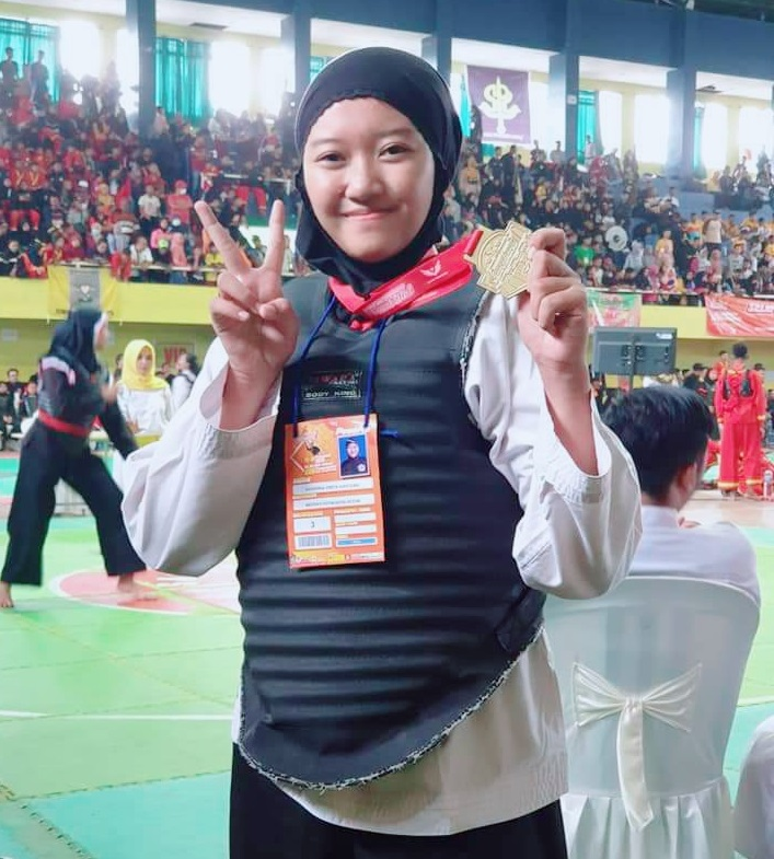 JUARA 1 – International Open Tournament Pencak Silat of Banyuwangi Championship 1 Tahun 2020